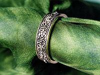 rings wedding rings medieval floral - Medieval Wedding Rings